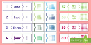 Number Jigsaws 1 100 Activity - Number Jigsaws 1-100 Activity - number jigsaws, number, jigsaws, 1-100, numeracy, numracy, number wo
