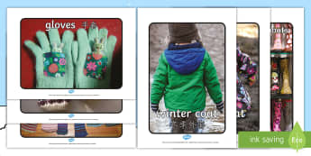 Winter Clothes Display Photos English/Mandarin Chinese - Winter Clothes Display Photographs - winter, clothes, display, winterclothes, wnter, wintre, grpahs,