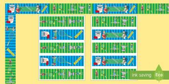 Wimbledon Display Borders - tennis, sports, pe, border, display