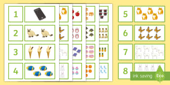 Pre-Entry Level Matching Numbers Puzzle - KS4 Entry Level, numeracy, 1-20,