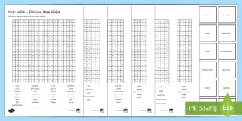 Free Time: Revision Activity Pack French - Secondary, 15 Minute Revision Activities, French, GCSE, AQA, vocabulary, wordsearch, freetime, leisu