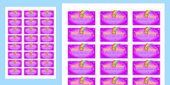 Write the Initial Sounds Stickers - stickers, printable stickers, marking stickers, work marking stickers, write the initial sounds sticker