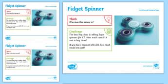 Toys: Fidget Spinner KS1 Exploration Sheet - toys, fidget spinner,gadget, spinner, KS1, Imagine (KS1)