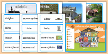 Homes Display Pack Gaeilge