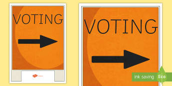 Voting Sign Display Poster - 2017 Elections, Government, National, Greens, Labour, New Zealand First, Parliament, Maori Party