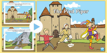 The Pied Piper Story PowerPoint - pied piper, the pied piper, the pied piper powerpoint, the pied piper story, the pied piper story sequencing