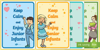Keep Calm Display Posters- - classroom, door, display, calm, keep, start of year, welcome back, new school year, getting to know