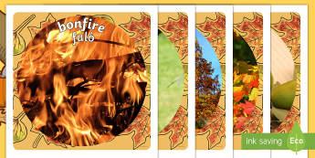 Autumn Display Photo Cut Outs Italian/English  - seasons, weather, cutout, display, autmn, autunm, atumn, waether, autumndisplay, aurum, aurumn, WHEA
