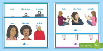 Comparative Adjectives (Céimeanna Comparáide na hAidiachta) Display Posters Gaeilge - Gramadach na Gaeilge, grammar, Irish, adjectives, comparative, céimeanna comparáide na hadiachta,I
