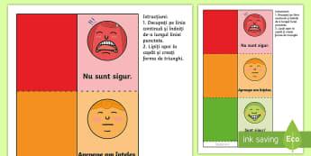 Semaforul emoțiilor - dezvoltare socială, dezvoltare personală,inteligență emoțională, jocuri cu emoții, activită