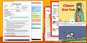 Fire-Breathing Dragon Craft EYFS Adult Input Plan and Resource Pack - fire-breathing, dragon, craft, eyfs, adult input, pack