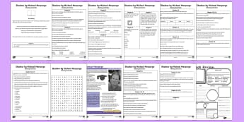 Guided Reading Pack - Literacy - Reading, guided reading, scottish, cfe, reading, comprehension, literacy, shadow, michael