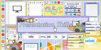 PowerPoint Presentation Skills: Additional Resources - Year 3 Computing Lesson Pack