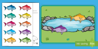How Many Fish? Counting Game Resource Pack - EYFS, Early Years Planning, Adult Led, Mathematics, Maths,  40-60, Selects The Correct Numeral To Re
