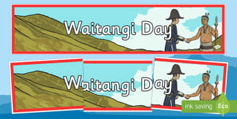 Waitangi Day Display Banner - new zealand, nz, waitangi day, treaty, display banner
