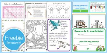 Free Spain Sample Teaching Resource Pack - Free, sample pack, twinkl, espanol, twinkl,
