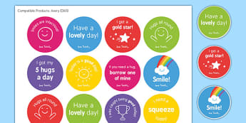 Well-Being Stickers