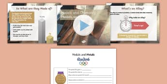 Medals and Metals PowerPoint