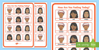 UAE - Topics - Feelings Display Poster - Feelings, emotions, poster, display, UAE, All About Me.