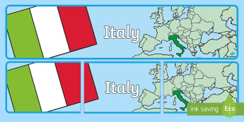 Italy Display Banner - Italy Display Banner - Italy, display, banner, sign, poster, country, world, Center, Central Europe,