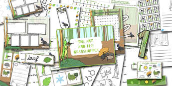 The Ant and the Grasshopper Resource Pack - packs, resources