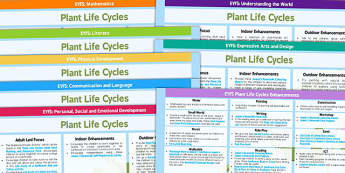 EYFS Plant Life Cycles Lesson Plan and Enhancement Ideas - life cycle, life cylce lesson plan, lesson plan, life cycle lesson ideas, life cycle lesson plan ideas, MPT