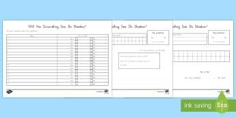 Groundhog Day Find Out and Graph Activity - US Requests, Groundhog Day Worksheet
