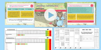 Year 2 Term 1 Paper 1 Reading Assessment Bumper Resource Pack - Year 2, Y2, reading, SATS, SAT, booklet, assessment, assess, KS1, fiction, non-fiction, review, pape