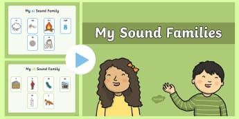 My Sound Families PowerPoint - My Sound Families PowerPoint - Sound family, alternate spellings, writing aid, mat, alternate spelli