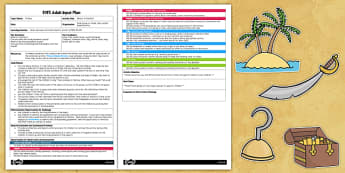 Pirate Themed What's in the Box? EYFS Adult Input Plan and Resource Pack