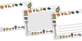 Religion Page Borders (Landscape) - display, banner, display banner, religion, religion borders, landscape religion borders, different religions, poster, sign, classroom display, themed banner