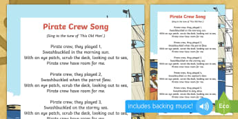 Pirate Crew Song