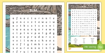 Surf Life Saving Australia Word Search-Australia