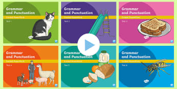 Y6 Grammar and Punctuation Tests Guided PowerPoint Pack - tests, y6, gps, spag, assessment, powerpoint, review, test pack, year 6, revision, revise,