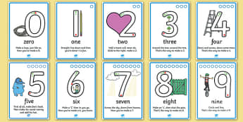 Number Formation SEN Activity Sheet, worksheet, overwriting