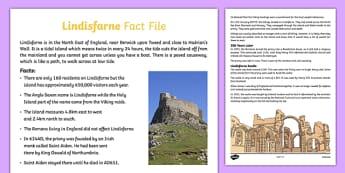 Lindisfarne Fact File