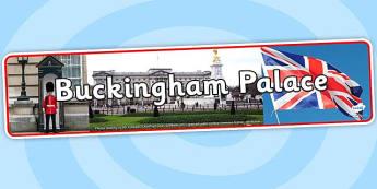 Buckingham Palace Photo Display Banner - buckingham palace, photo display banner, photo banner, display banner, display banner for display, display photos