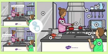Prepositions Picture Hotspots, Twinkl Go, twinkl go, TwinklGo, twinklgo