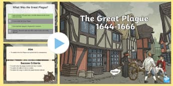 The Great Plague - The Great Plague Information,  PowerPoint, history,