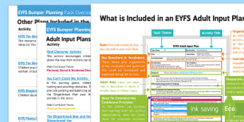 EYFS The Gingerbread Man Bumper Planning Pack Overview - EYFS, Early Years planning, The Gingerbread Man, Traditional Tales.