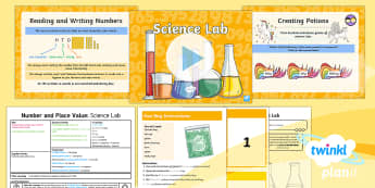 PlanIt Y3 Number and Place Value Lesson Pack Read and Write Numbers (2) -  problem solving, number recognition, science, maths mastery, year 3, fun maths, hundreds, tens, one