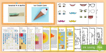 July Provision Arts and Crafts Activity Pack - summer, art, activities, ROI, crafting, making, make,Irish
