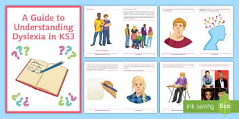 I've Got Dyslexia - A Guide for KS3 Pupils Booklet - Dyslexia, Dyslexia awareness, dyslexia awareness day, SpLd, Reading support