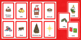 Christmas Pairs Matching Game - games, activities, activity