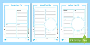 Differentiated Arctic Animal Fact File Activity Sheets - The Arctic, Polar Regions, north pole, south pole, explorers, arctic, polar, animal fact files, writ