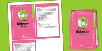 2014 Curriculum Cards Year 1 Science - new curriculum, visual aid