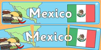 Mexico Display Banner - mexico, display banner, display, banner