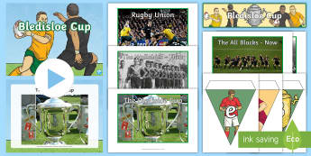 Bledisloe Cup Display Pack - bledisloe Cup, rugby, australia, new zealand, Wallabies, all blacks, display pack, resource pack