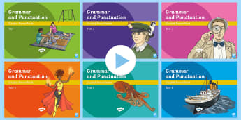 Y3 Grammar and Punctuation Tests Guided PowerPoint Pack - punctuation, grammar, Spag, GPS, PandG, KS2, Y3, Y4, Y5, Y6, English, test, review, assess, assessme