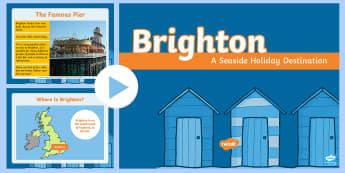 KS1 Brighton Information PowerPoint - KS1, Key Stage One, Year 1, Year 2, Year One, Year Two, United Kingdom, Powerpoint, Information Powe